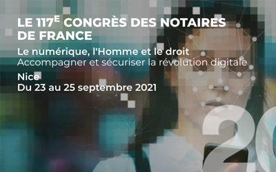 Not'Courrier au 117e Congrès des notaires à Nice